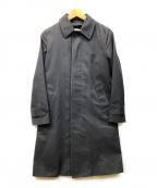 HYKE(ハイク)の古着「ウールライナー付ステンカラーコート」|ブラック