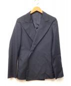 yohji yamamoto+Noir(ヨウジヤマモト プリュス ノアール)の古着「ストライプジャケット」|ネイビー