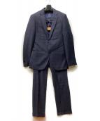 THE SUIT COMPANY(ザスーツカンパニ)の古着「2Bセットアップスーツ」|グレー×ネイビー
