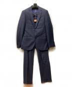 THE SUIT COMPANY(ザ・スーツカンパニー)の古着「2Bセットアップスーツ」|グレー×ネイビー