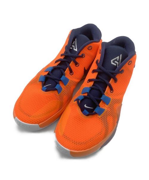 NIKE(ナイキ)NIKE (ナイキ) ローカットスニーカー オレンジ×ミッドナイトブルー サイズ:26.5cm AIR ZOOM FREAK 1 BQ5422-800の古着・服飾アイテム