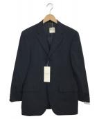 DURBAN(ダーバン)の古着「3Bテーラードジャケット」|ネイビー