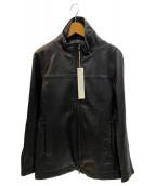 SRIVER(スリヴァー)の古着「レザージャケット」|ブラック