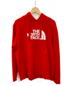 THE NORTH FACE(ザノースフェイス)の古着「GREENWICH HOODIE」 レッド