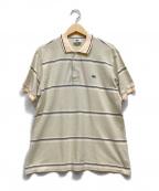 LACOSTE(ラコステ)の古着「ポロシャツ」|ベージュ