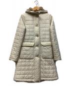 MACKINTOSH(マッキントッシュ)の古着「キルティングコート」|アイボリー