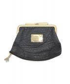 Leather Jewels(レザージュエルズ)の古着「コインケース」|ブラック