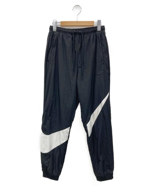 NIKE(ナイキ)NIKE (ナイキ) HBR STMT WOVEN PANTS ブラック×ホワイト サイズ:XSの古着・服飾アイテム