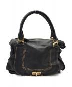 Chloe(クロエ)の古着「ハンドバッグ」|ブラック