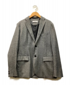 BEAUTY&YOUTH(ビューティーアンドユース)の古着「サキソニー2Bジャケット」|グレー