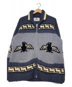CANADIAN SWEATER(カナディアンセーター)の古着「カウチンニットカーディガン」