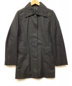Hysteric(ヒステリック)の古着「ステンカラーコート」|ブラック