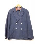 KAPTAIN SUNSHINE×BEAMS(キャプテン サンシャイン×ビームス)の古着「ダブルブレストジャケット」|ネイビー