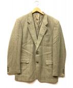 Crockett & Jones(クロケットアンドジョーンズ)の古着「2Bテーラードジャケット」 カーキ