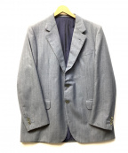BRIONI(ブリオーニ)の古着「2Bテーラードジャケット」 ネイビー