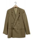 CORNELIANI(コルネリアーニ)の古着「ダブルブレストジャケット」|ベージュ