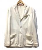 ISAIA(イザイア)の古着「ニットジャケット」 ホワイト