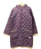 ARMEN(アーメン)の古着「キルティングコート」|パープル
