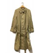 Browning(ブローニング)の古着「ロングコート」 ベージュ