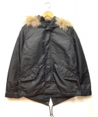 ALPHA(アルファ)の古着「ミリタリーナイロンジャケット」|ブラック