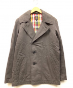 JELADO(ジェラード)の古着「ミリタリーコート」 チャコールグレー