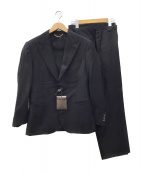 LOUIS VUITTON(ルイヴィトン)の古着「2Bセットアップスーツ」|ブラック