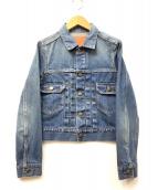 BED&BREAKFAST(ベットアンドブレックファスト)の古着「デニムジャケット」|インディゴ