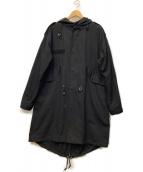 International Gallery(インターナショナルギャラリービームス)の古着「モッズコート」 ブラック