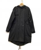 International Gallery(インターナショナルギャラリー)の古着「モッズコート」|ブラック