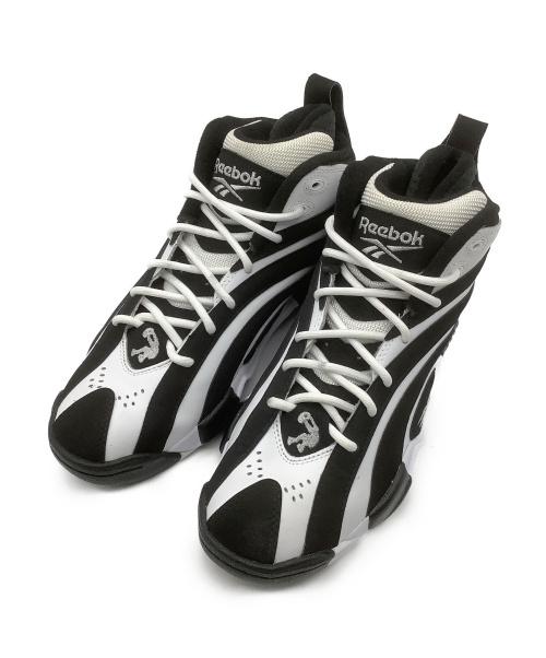 REEBOK(リーボック)REEBOK (リーボック) スポーツタイプスニーカー ブラック×ホワイト サイズ:26.5cm SHAQNOSIS EF3069 定価:19.800円の古着・服飾アイテム