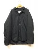 BLUE WORK(ブルーワーク)の古着「GUNNERジャケット」 ブラック