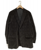 ERMENEGILDO ZEGNA(エルメネジルドゼニア)の古着「2Bテーラードジャケット」 グレー