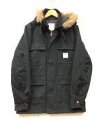 OSHKOSH CLASSIC(オシュコシュ クラシック)の古着「ショートモッズコート」|ブラック