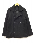 50DUPPIES(ファイブオーダッピーズ)の古着「中綿Pコート」|ブラック