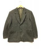 Harris Tweed×Heimat Werk(ハリーズツウィード)の古着「2Bツイードジャケット」|オリーブ