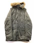 ALPHA(アルファ)の古着「N-3Bタイプタイトジャケット」|カーキ