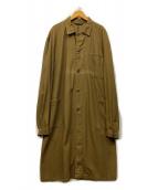 OZKN(OZKN)の古着「チェコ軍ミリタリーコート」 カーキ