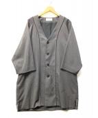 EN ROUTE(アンルート)の古着「パイピングベースボールシャツ」|グレー