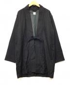 SASQUATCHfabrix.(サスクワッチファブリックス)の古着「ハオリコート」|ブラック