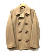 GLOVER ALL(グローバーオール)の古着「トグル釦Pコート」|キャメル