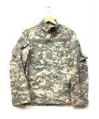 American Apparel(アメリカンアパレル)の古着「デジカモコンバットジャケット」 カーキ