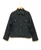 MADE GOLD(メイドゴールド)の古着「デニムジャケット」|カーキ