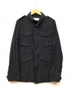 BLUE WORK(ブルーワーク)の古着「M-65タイプジャケット」 ブラック