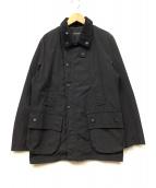 nano・universe(ナノユニバース)の古着「オイルドジャケット」|ブラック