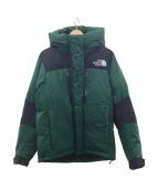 THE NORTH FACE(ザノースフェイス)の古着「バルトロライトジャケット」 グリーン×ブラック