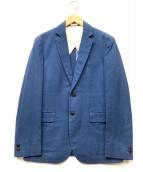 niuhans(ニュアンス)の古着「2Bテーラードジャケット」 ブルー