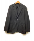 MACKINTOSH PHILOSOPHY TROTTER(マッキントッシュ フィロソフィー トロッター)の古着「シャドーストライプトロッタースーツ」|ブラック