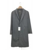 MONKEY TIME(モンキータイム)の古着「サージショールガウンコート」|グレー