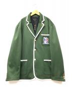 bucca44(ブッカ44)の古着「スクールジャケット」 グリーン