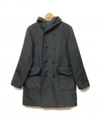 JACKMAN(ジャックマン)の古着「フーデッドコート」 ブラック